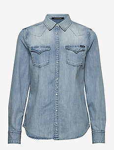 Shirt - jeansblouses - light blue