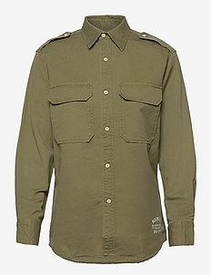 Shirt - long-sleeved shirts - light military