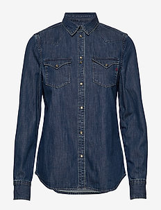 Shirt - jeansowe koszule - medium blue