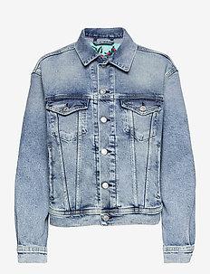 Jacket Rose Label Pack - denim jackets - light blue