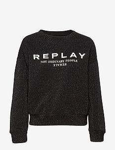 Sweater - BLACK LUREX