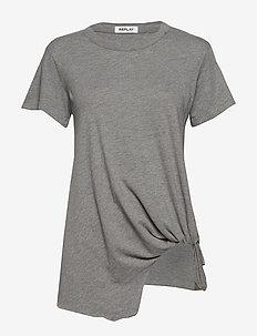 T-Shirt - MEDIUM GREY MELANGE