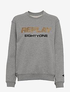 Sweater - LIGHT GREY MELANGE.....