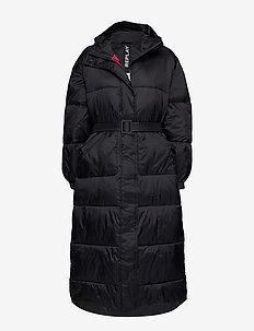 Jacket - wyściełane płaszcze - black