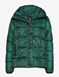 Jacket - BLACK/GREEN SNAKE