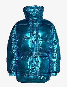 Jacket - LIGHT BLUE METALIZED