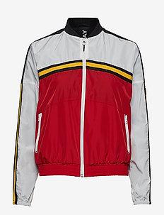 Jacket - RED/WHITE/BLACK