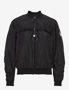Jacket - bomber jakker - black