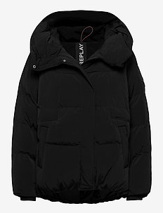 Jacket - fôrede jakker - black