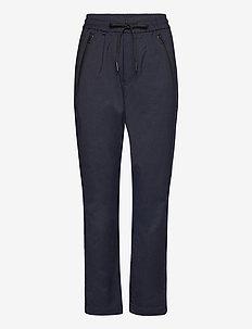 Trousers - slim fit broeken - night blue