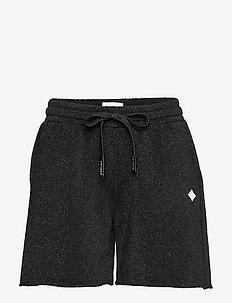 Shorts - casual shorts - black lurex