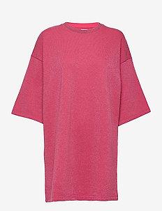 DRESS - kesämekot - fuxia lurex