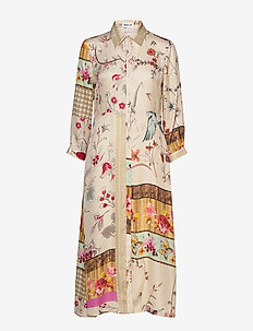Dress - BEIGE/MULTICOLOR