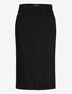 Skirt - jeansrokken - black