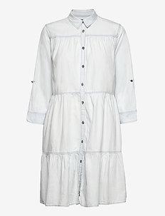 Dress - midi dresses - light blue
