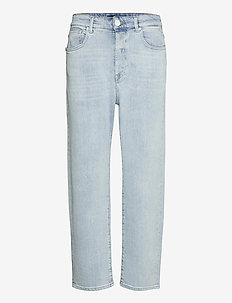 TYNA - straight jeans - light blue