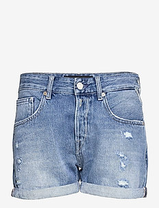 ANYTA Rose Label Pack - denimshorts - medium blue