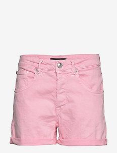 Shorts - jeansowe szorty - light pink