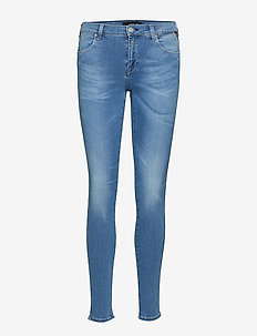 STELLA - slim jeans - light blue