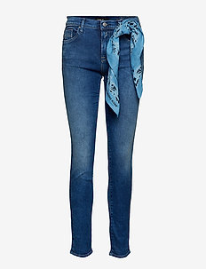 VIVY - slim jeans - medium blue