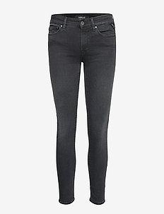 NEW LUZ - skinny jeans - black