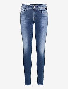 NEW LUZ Hyperflex Re-Used - skinny jeans - medium blue