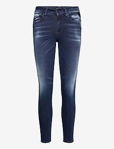 NEW LUZ Hyperflex Re-Used XLite - skinny jeans - dark blue