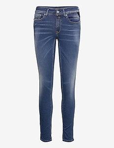 NEW LUZ Hyperflex Re-Used XLite - skinny jeans - medium blue
