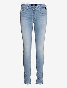 NEW LUZ Hyperflex Re-Used XLite - skinny jeans - light blue
