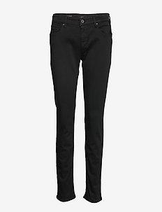 NEW LUZ HYPERFLEX - skinny jeans - black.