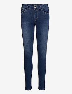 NEW LUZ - slim jeans - dark blue