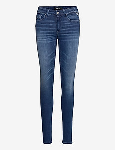 NEW LUZ - slim jeans - medium blue