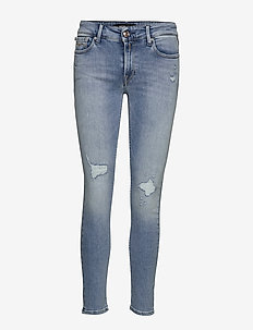 NEW LUZ - skinny jeans - light blue