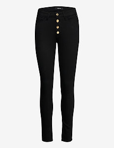 LUZIEN - jeans slim - black