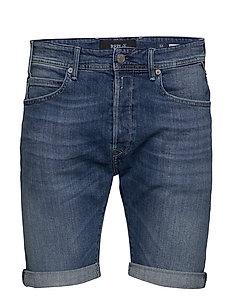 RBJ.901 SHORT - denim shorts - medium blue