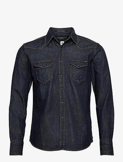 Shirt AGED - podstawowe koszulki - dark blue