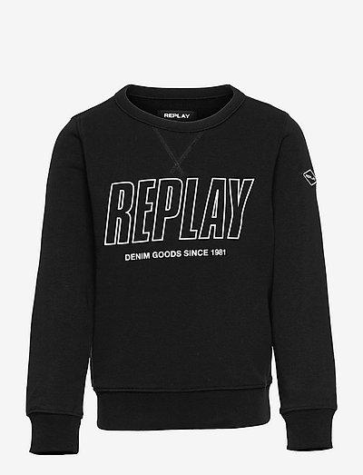Sweater - sweat-shirt - black