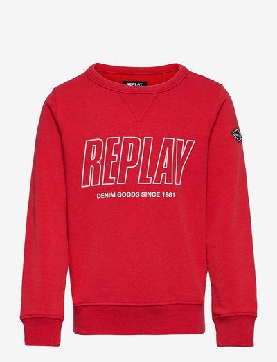 Sweater - sweat-shirt - geranium red