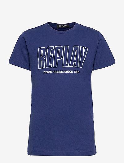 T-Shirt - À manches courtes - bluette..