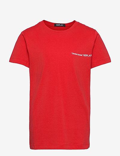 T-Shirt - À manches courtes - geranium red