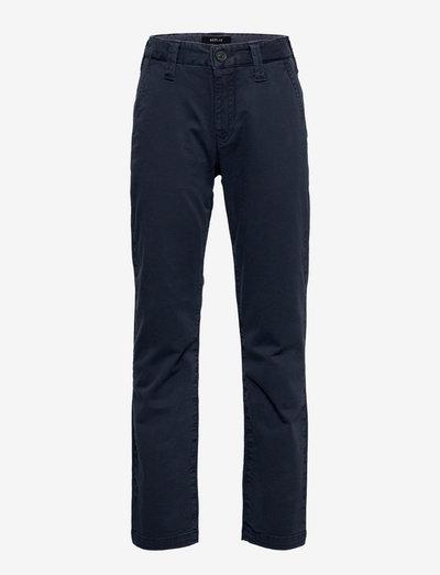 Trousers - pantalons - dark blue