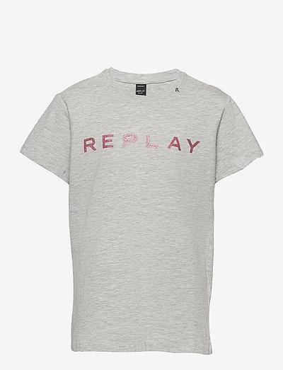 T-Shirt - À manches courtes - grey melange