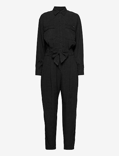 Jumpsuit - clothing - black