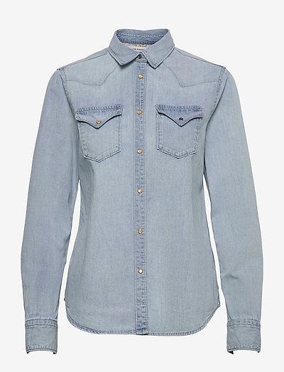 Shirt - langärmlige hemden - light blue