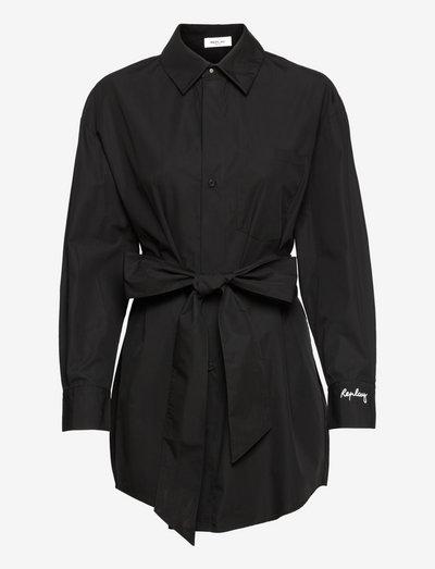 Shirt - langärmlige hemden - black