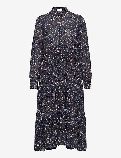Dress - sommerkleider - black/cyclamen/blue/azure