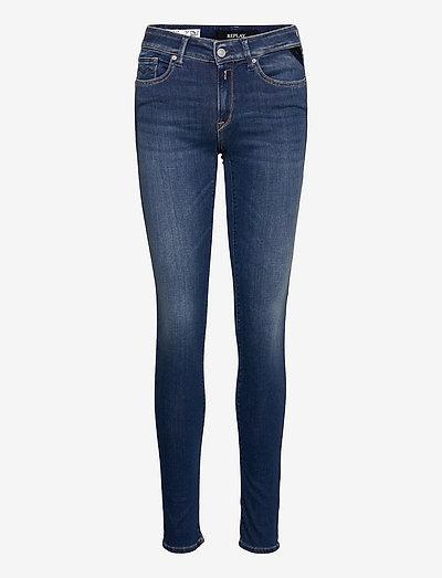 NEW LUZ Trousers Hyperflex Re-Used - skinny jeans - dark blue