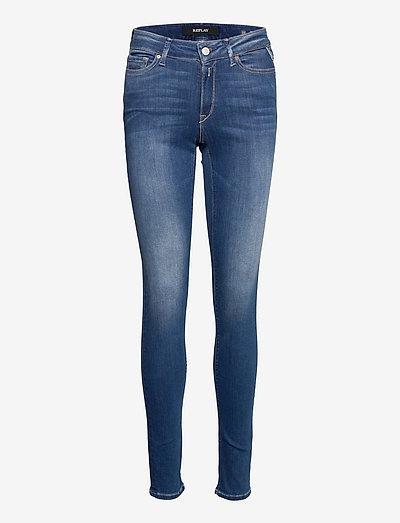 LUZIEN Trousers 99 Denim - skinny jeans - medium blue