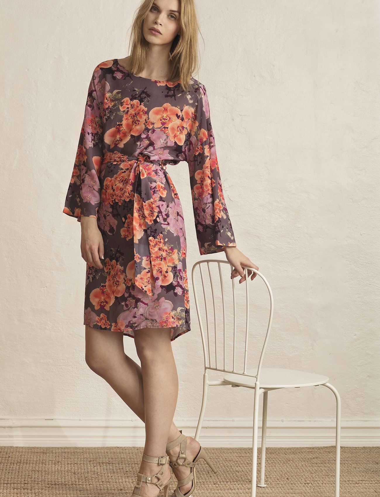 Residus    MIRABELLE WILLOW DRESS  - Kleider    FALCON