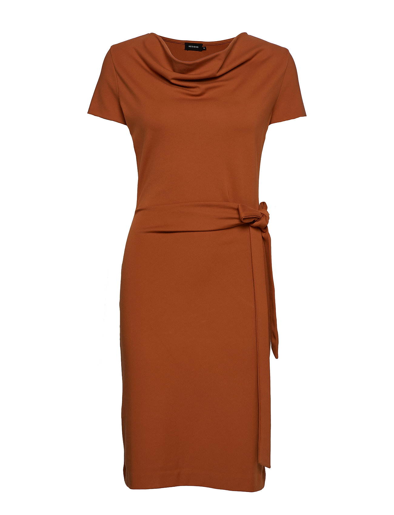 Residus LILY DRESS - WARM COGNAC